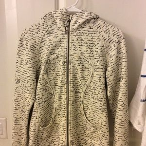 lululemon off white jacket